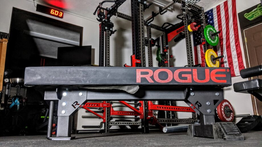 Rogue Monster Utility Bench 2 0 Review Garage Gym Reviews