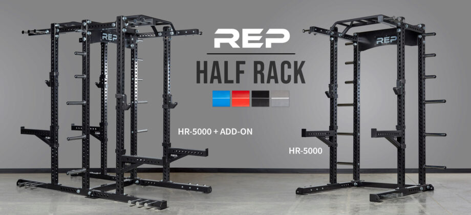 Rep fitness hr 5000 half rack review: high end feature filled squat