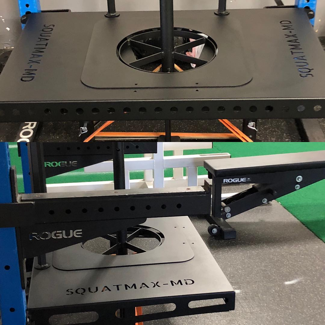 Squatmax-MD Rack Attachment Model
