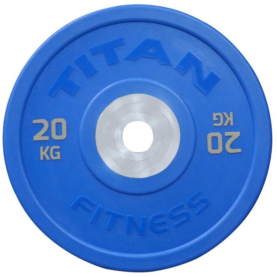 Titan Urethane KG Bumper Plates