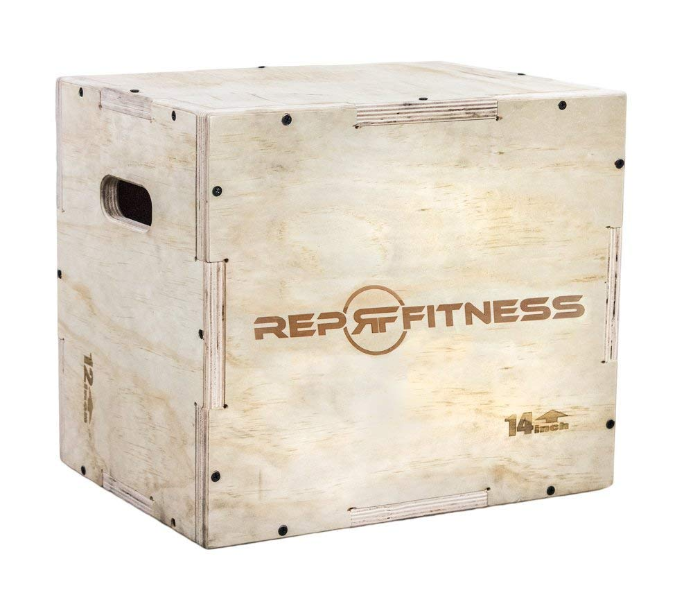 Rep 3-in-1 Wood Plyo Box