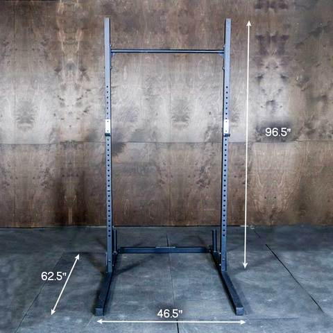 FringeSport Squat Rack with Pullup Bar