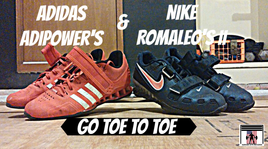 Adidas adipower vs nike romaleos weightlifting shoes review