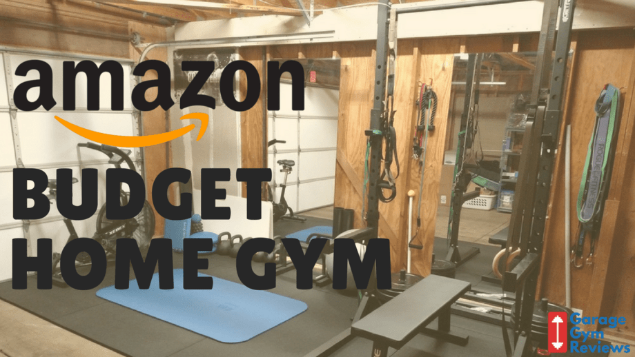 Building a budget home gym on amazon.com