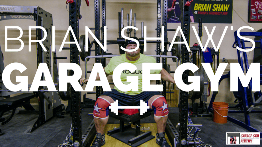 World s strongest man brian shaw s garage gym
