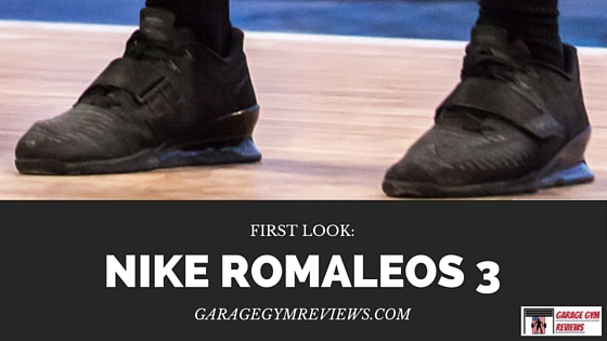 Nike romaleos first look