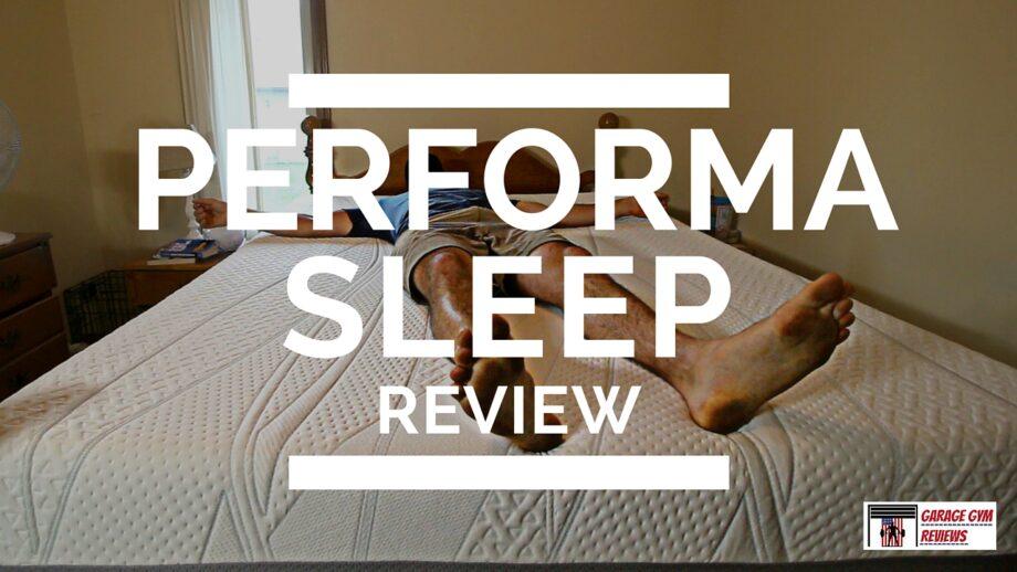 Performasleep mattress review a mattress for athletes