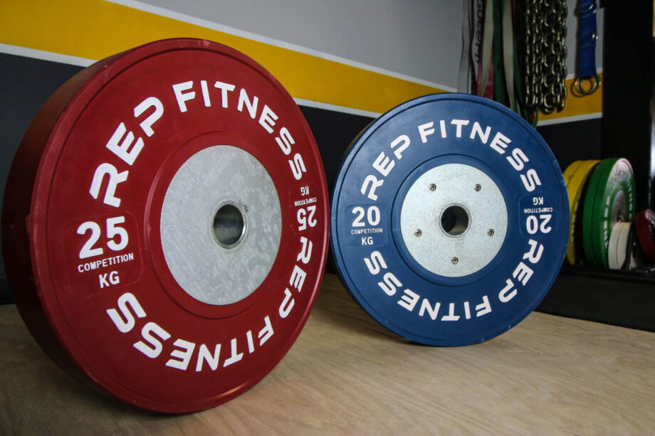 Rep fitness competition bumper plates review