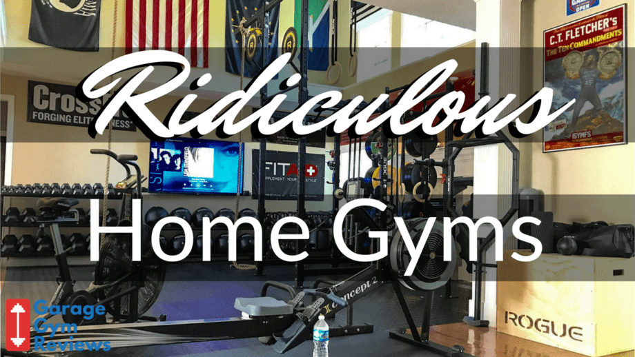 10 ridiculous home gym setups
