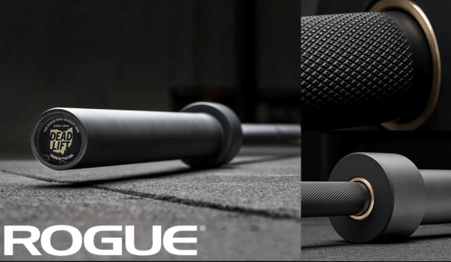 Rogue Cerakote Ohio Deadlift Bar Released Cover Image
