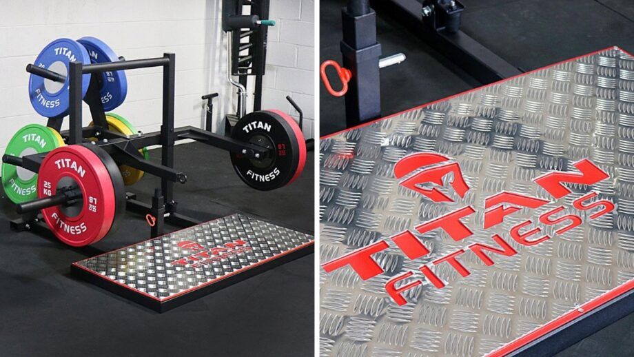 Titan Fitness Belt Squat Machine Released Cover Image