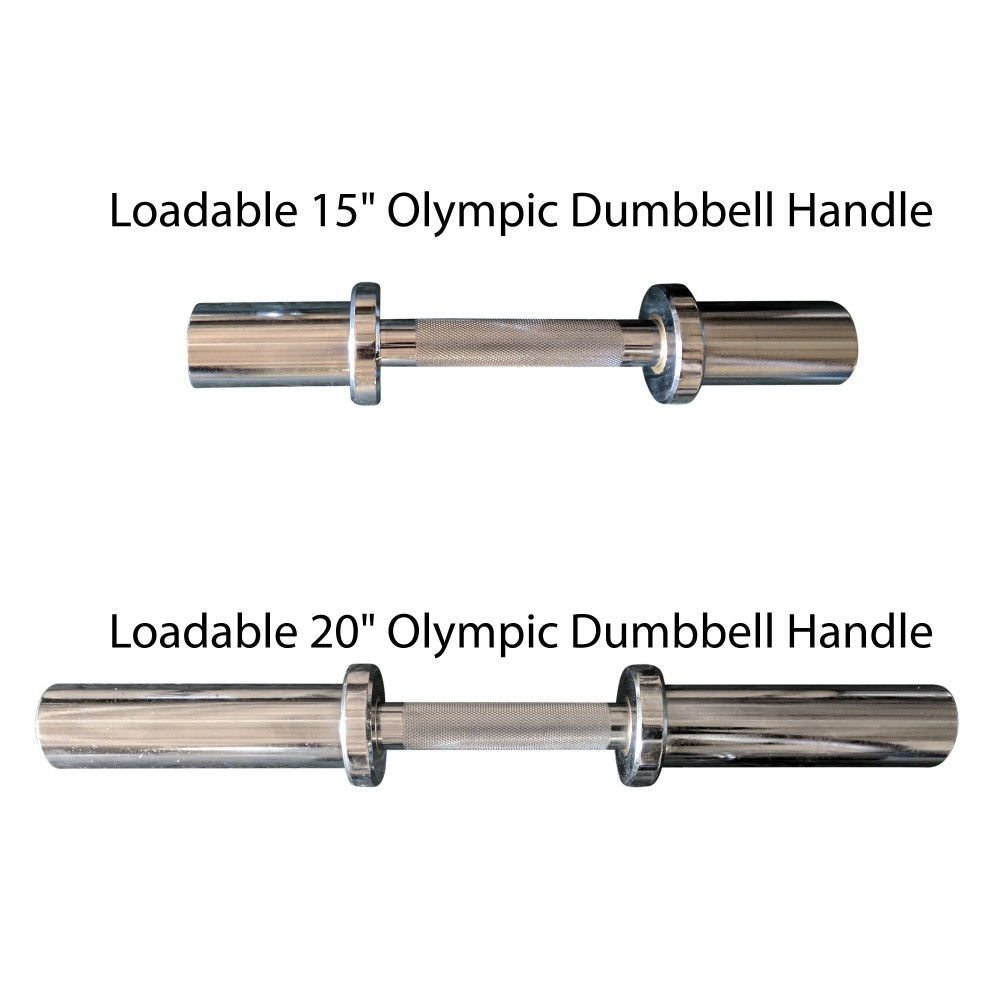 Titan Loadable Olympic Dumbbell Handles